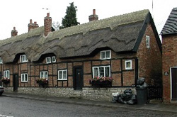 Thatched Cottages, Market Place, Market Bosworth