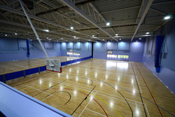 Sports hall in new leisure centre