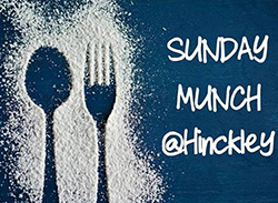 Sunday Munch logo featuring a spoon and fork