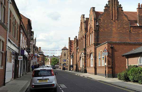 Station Road, Hinckley