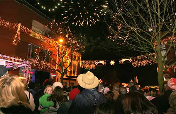 Hinckley's Christmas lights switch-on