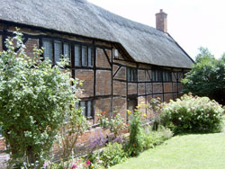 Rear of Hinckley Museum country garden