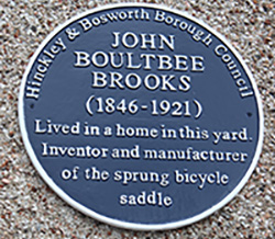 Photo of blue plaque