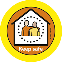 logo: Keep safe